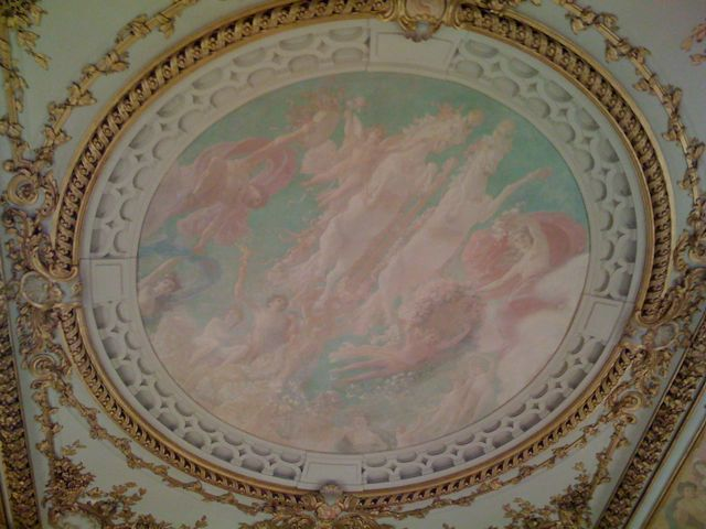 Deckengemälde im Musée d'Orsay