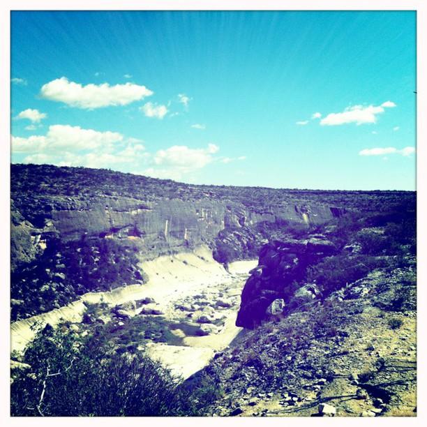 Seminole Canyon, Texas #Hipstamatic #RobotoGlitter #Blanko