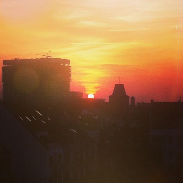 Sunset Sülz #cologne #sun #summer