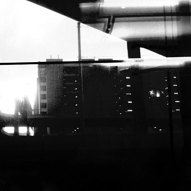 FRA Airport #blackandwhite #frankfurt #airport #rain