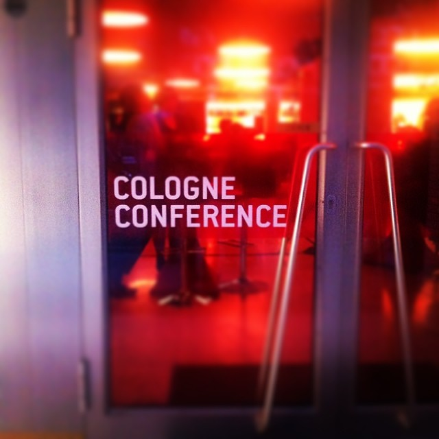 Cologne Conference #cologne #film #festival #tv #köln