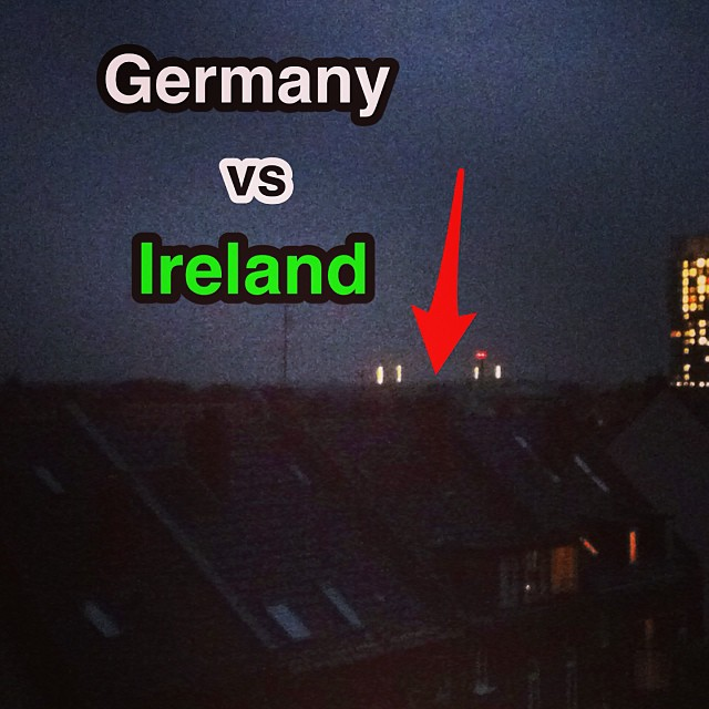 Room with a view #germany #ireland #deutschland #irland #football #fussball