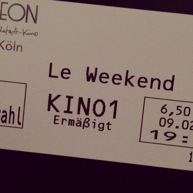 #leweekend #cinema #cologne