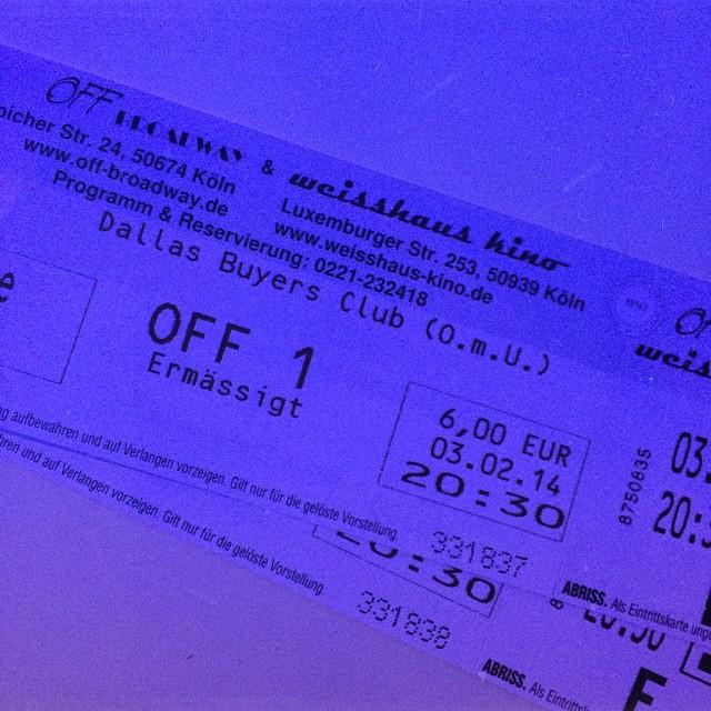 #dallasbuyersclub #cinema #cologne