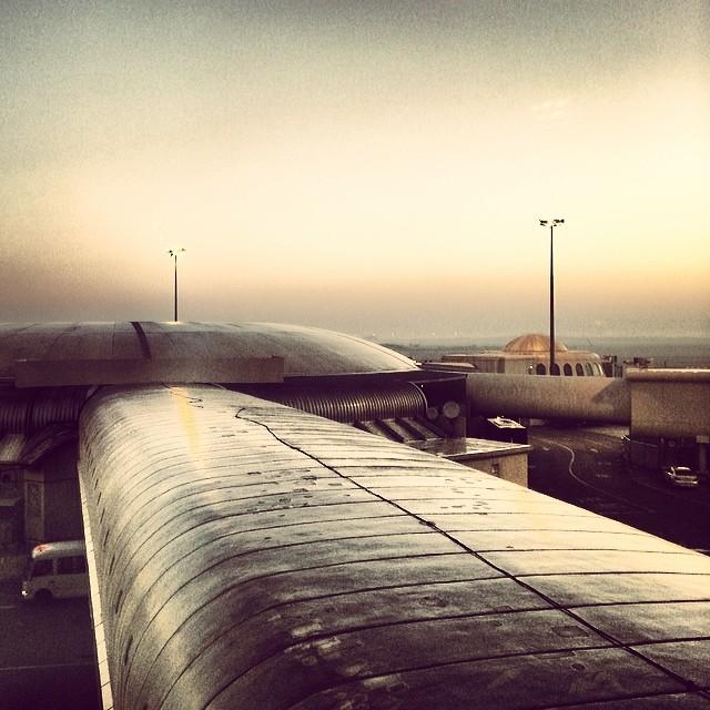 Sunrise at Abu Dhabi