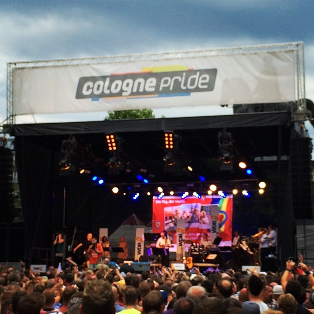 Cologne Pride, biggest pride in Europe #cologne #pride #gay #community #stonewall #instagay