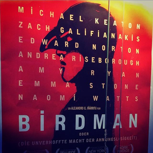 Movie year 2015 begins with a bang #birdman