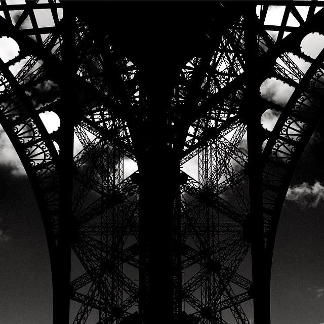 Black Tower #paris #tourdeeiffel #blackandwhite