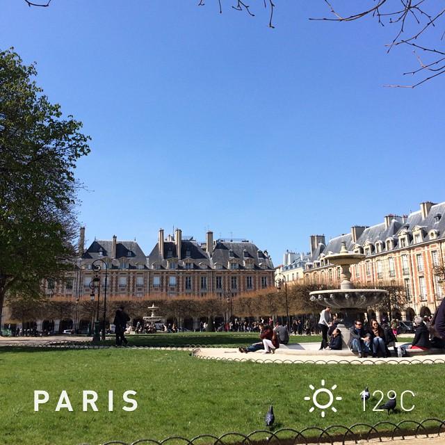 Easter Monday #spring #instaweatherpro #weather #wx #paris #frankreich #day #fr