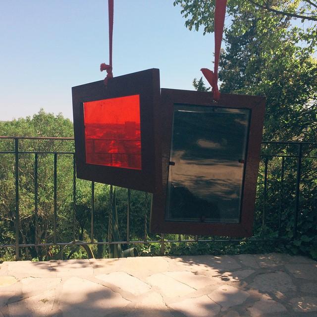 Framed views #nimes #colors #art #view