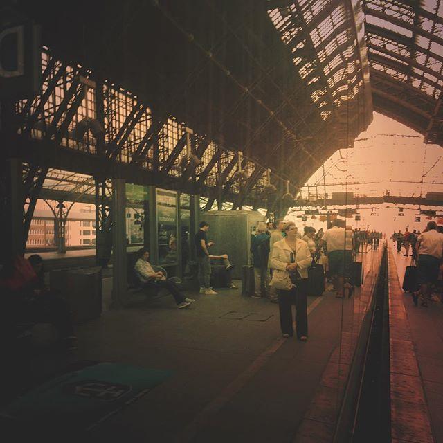 Mirror, mirror on the train #train #cologne #mirror