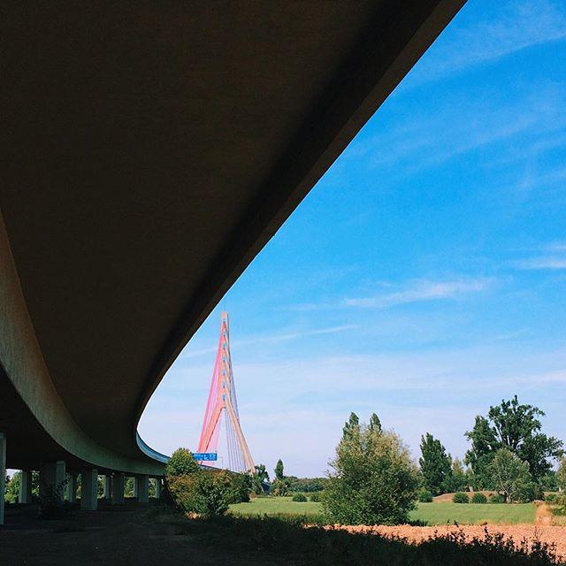 The Bridge #VSCOcam #Düsseldorf #Neuss #Radtour #Brücke #Bridge