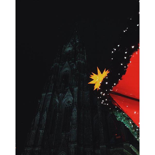 Rainy Star #cologne #köln #dom #cathedral #star